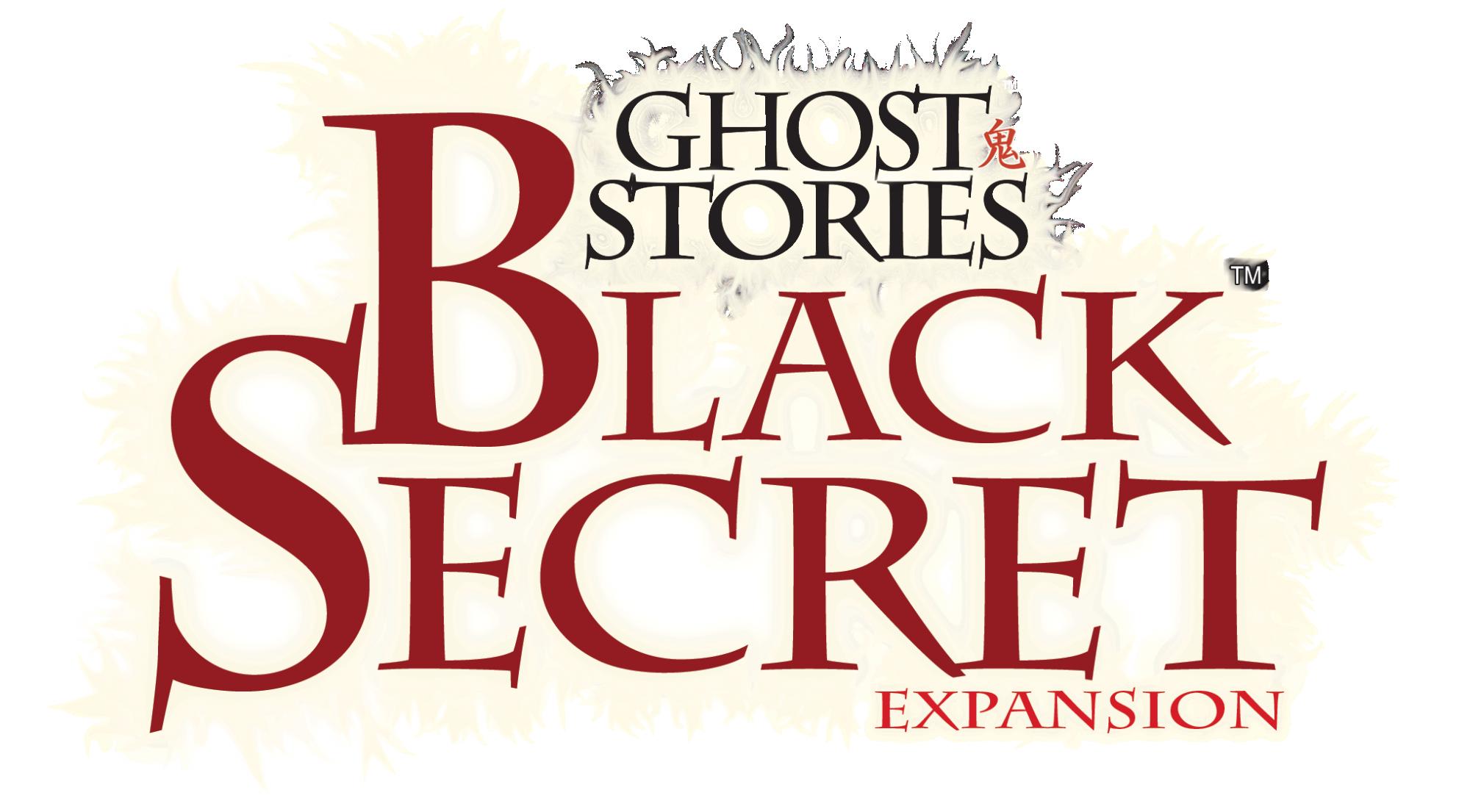 Logo Ghost Stories - Black Secret