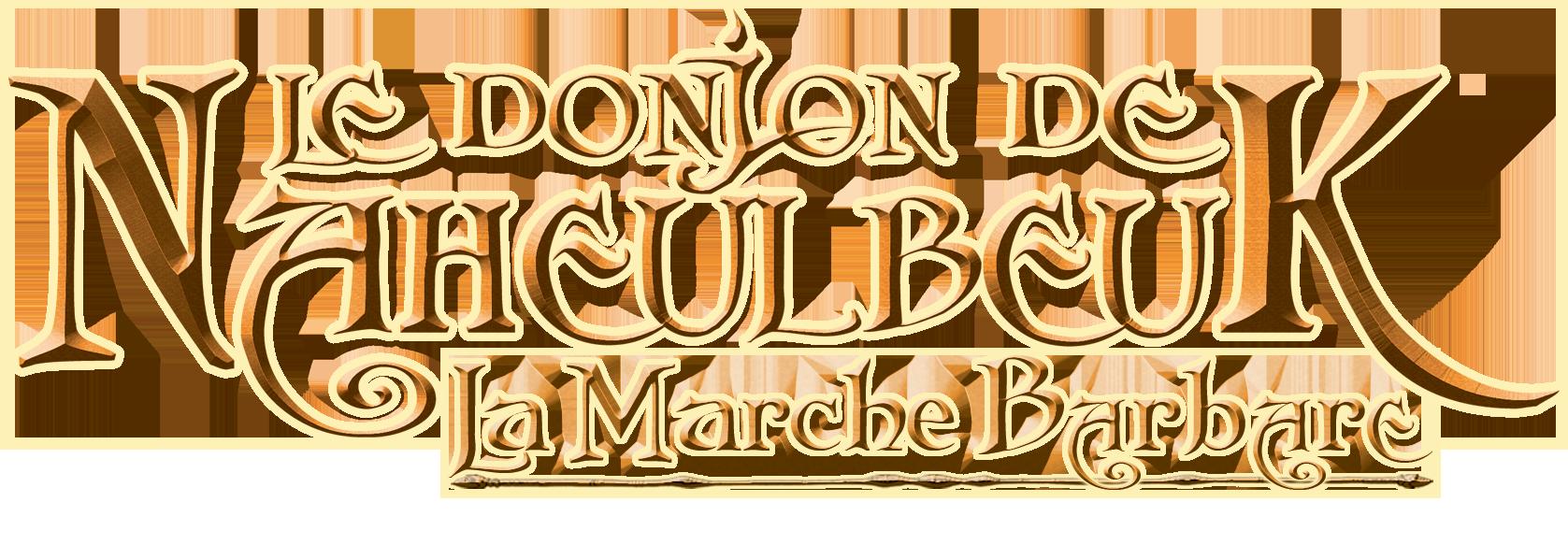 logo La Marche Barbare