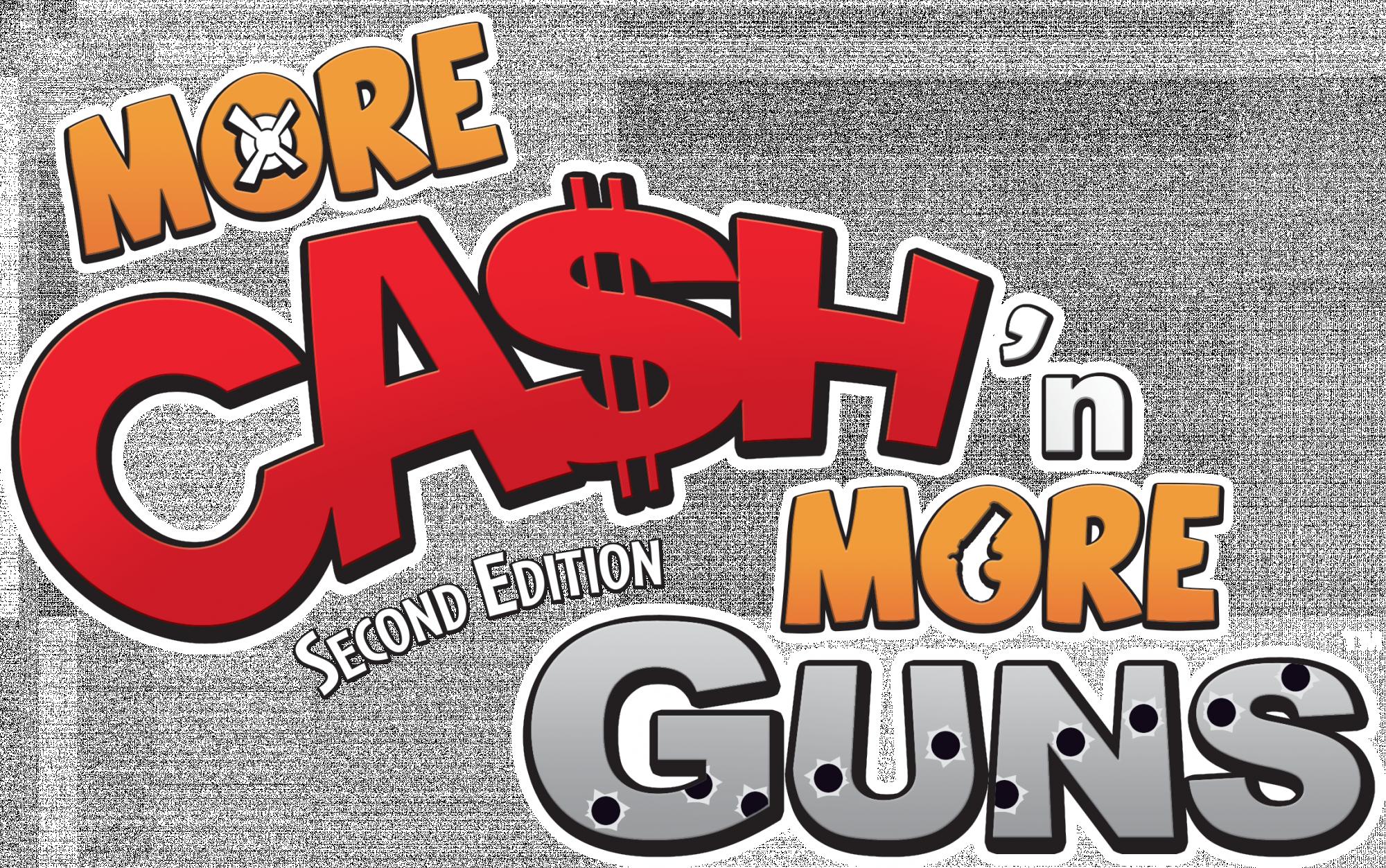 logo More Ca$h'n More Guns