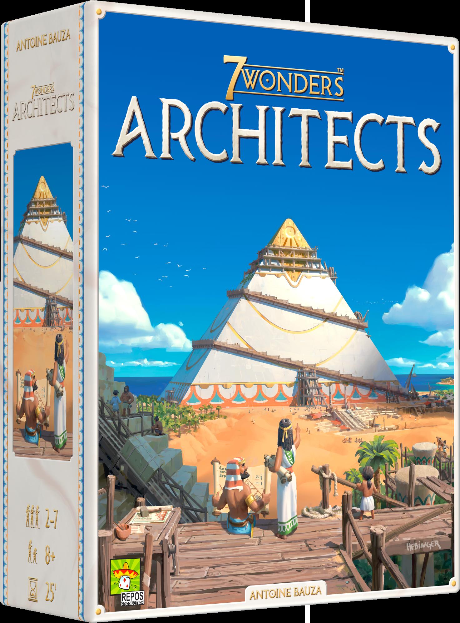 7 Wonders Architects, c'est aussi :