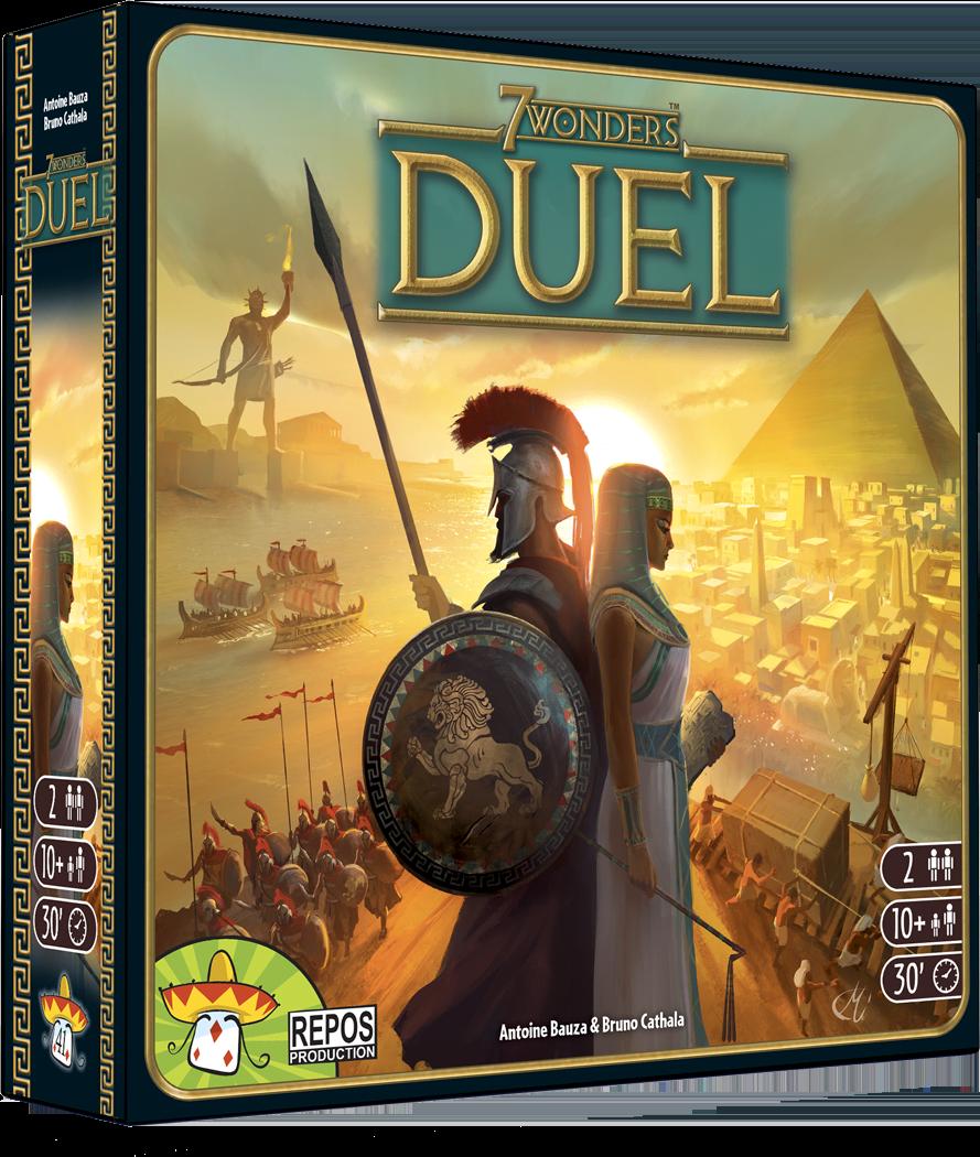 7 Wonders Duel is: