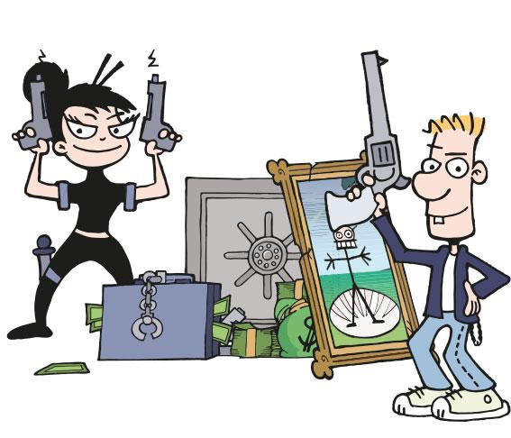 Ca$h'n Guns - More Cash'n More Guns Expansion