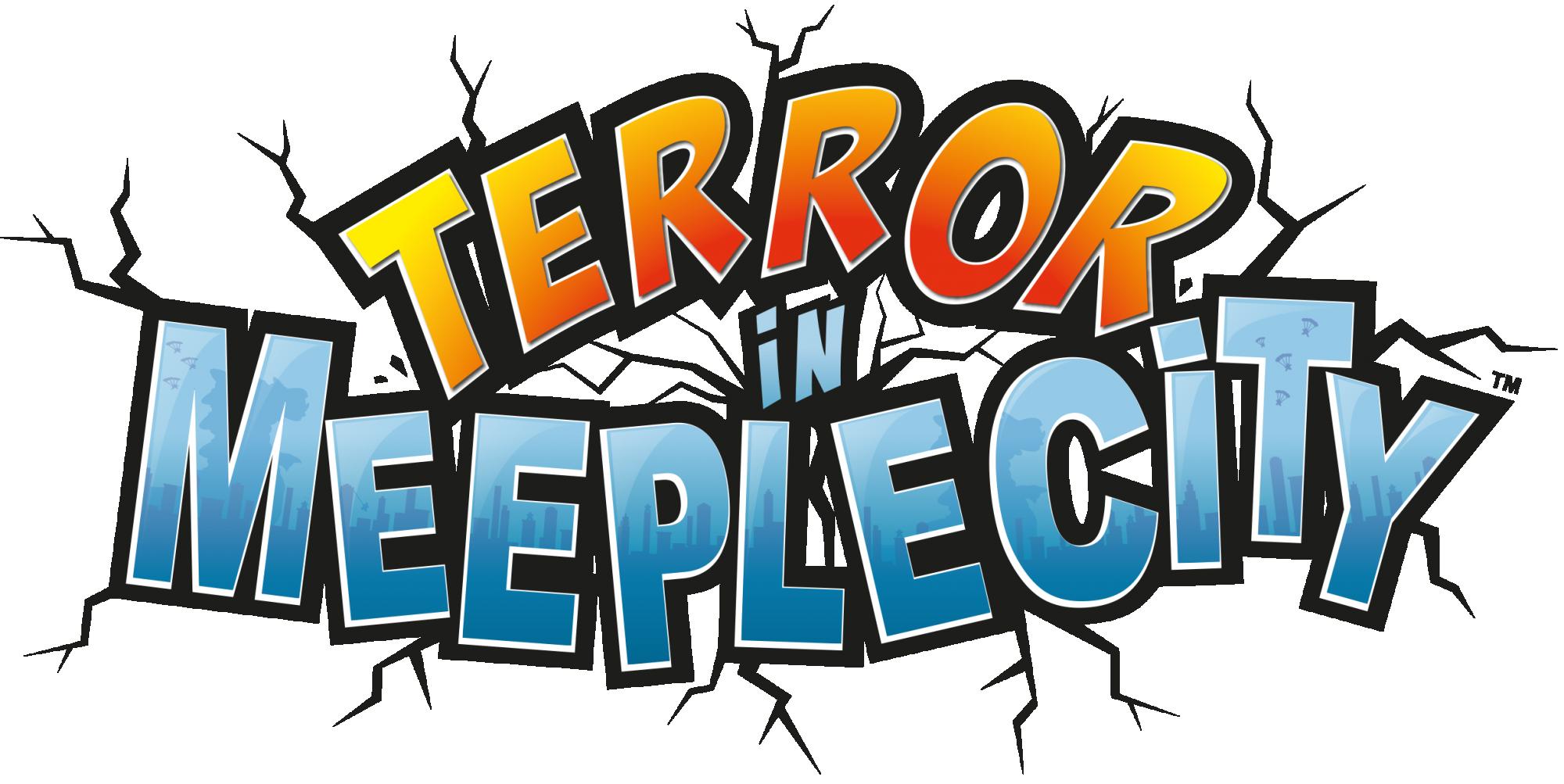 Logo Terror in Meeple City