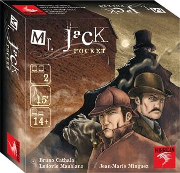 Mr Jack Pocket, un jeu compact et rapide