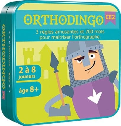 Orthodingo CE2 – jeu d'orthographe lexicale