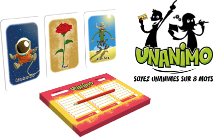 Le jeu Unanimo