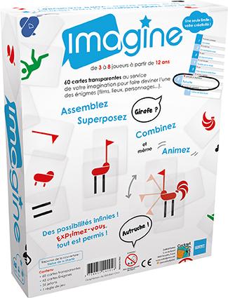 La boîte de jeu Imagine