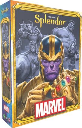 le jeu à licence Marvel Splendor